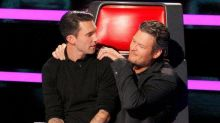 Blake and Adam Make a Pact on 'The Voice'