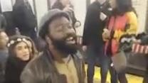 Incredible subway performer inspires entire station!
