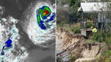 Cyclone Uesi set to smash Australia's east coast with huge storm waves