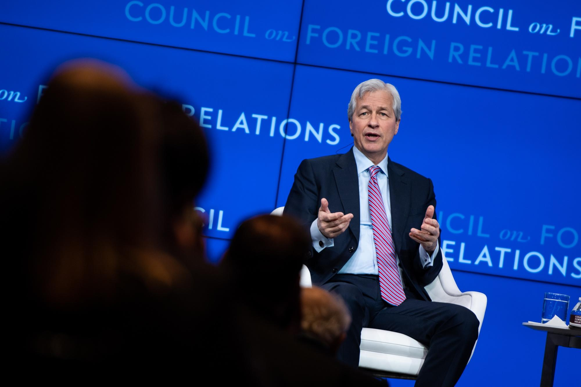 Jamie Dimon Says He Didn't Seriously Consider Running for President