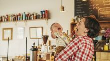 Should crying babies be banned from cafes?