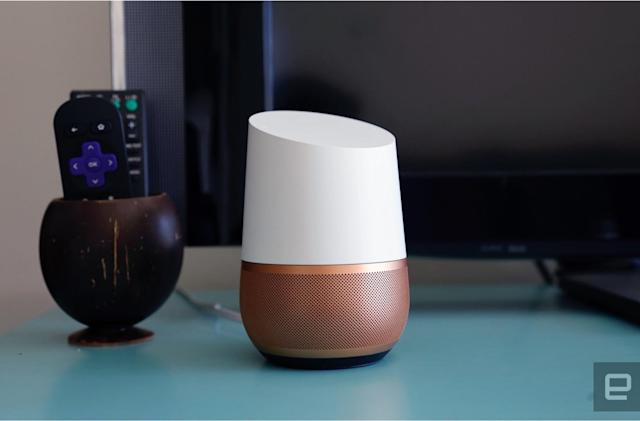 Google Home's new actions include food, news and more