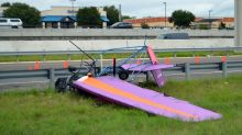 2 dead after ultralight aircraft crashes on Texas interstate