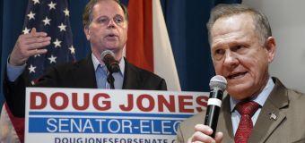 Doug Jones calls on Roy Moore to concede