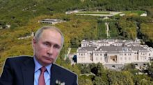 Drone footage purports to show Vladimir Putin's secret $1.4 billion palace on Russia's Black Sea