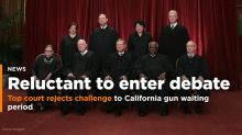 Supreme Court snubs challenge to California gun waiting period