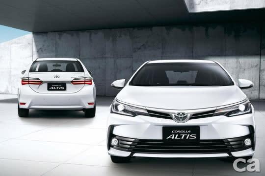 神一般的存在,Toyota Corolla Altis。