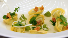 'Custard ravioli... whatever next?' MasterChef contestant's bizarre choice of dessert on first episode of new series causes stir among viewers