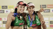 Talentos do vôlei de praia não brotam da areia, e treinadores já temem o futuro do Brasil na modalidade