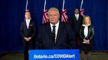 Coronavirus: Ontario Premier Ford says York Region is 'teetering' towards modified stage 2 restrictions