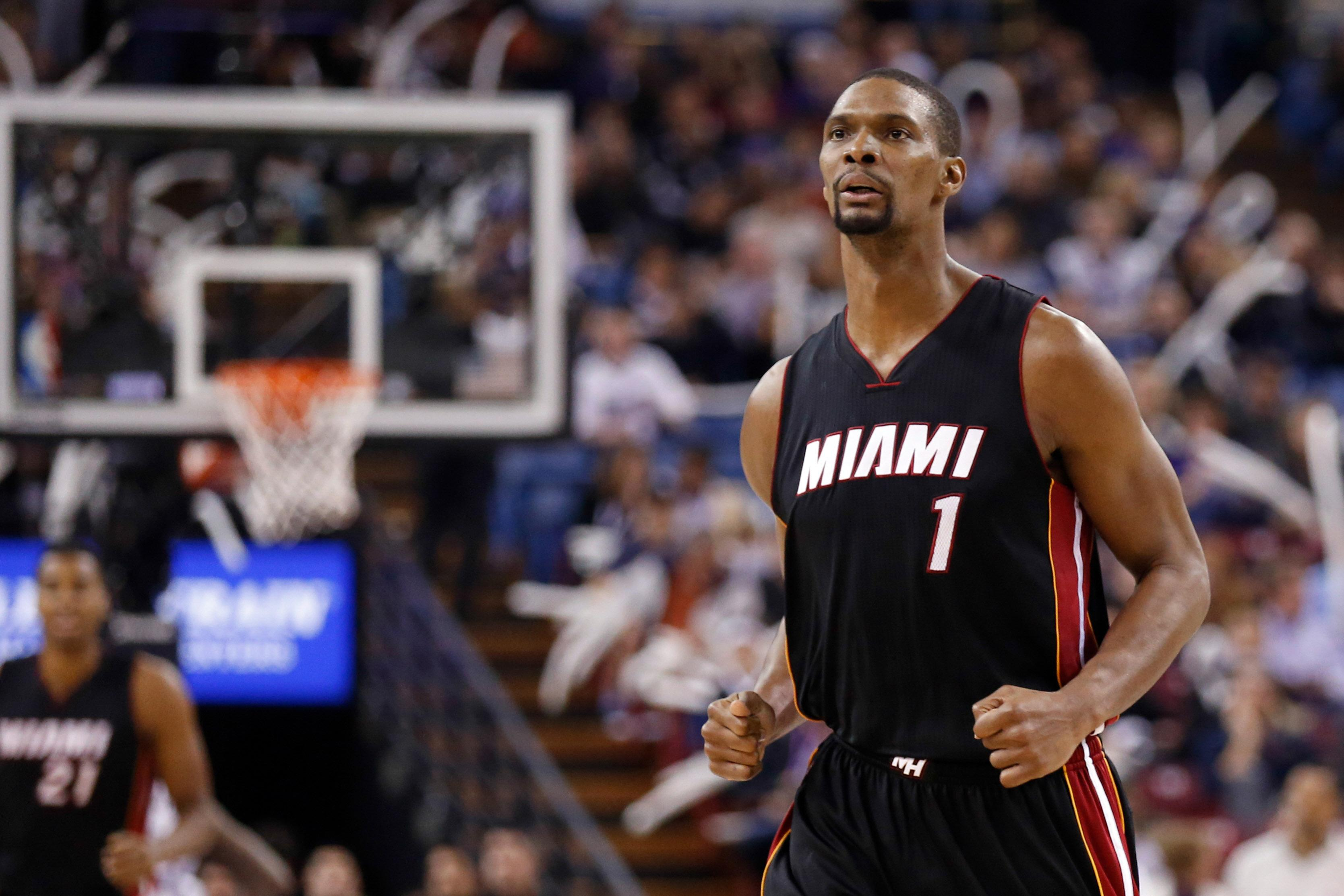Chris Bosh admitted to Miami hospital for lung tests Heat say
