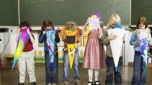 Diese Bilder einer Erstklässlerin beweisen: Schule ist echt hart