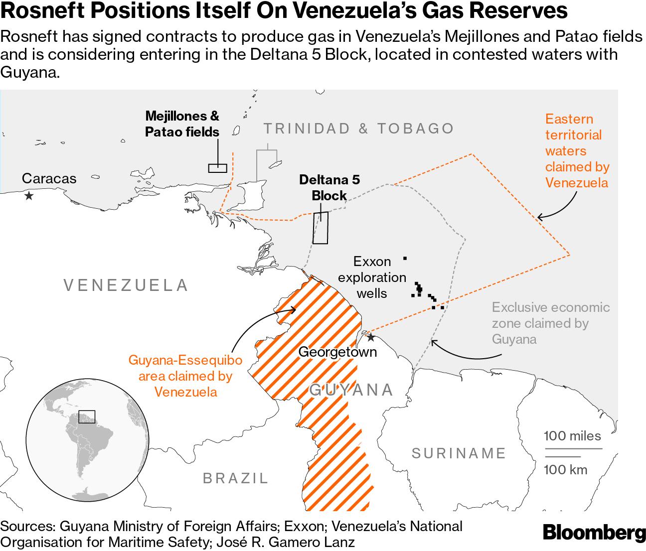 Resultado de imagen para Venezuela Bloque Deltana 5