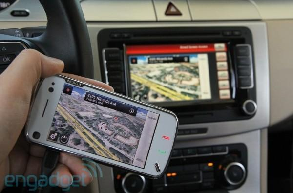 Exclusive: VW's Terminal Mode prototype with a Nokia N97 at the helm, we go hands-on