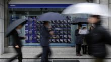 Sterling dives on Brexit uncertainty, world stocks down for sixth day