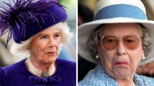The fashion faux pas Camilla made in front of the Queen