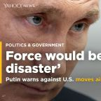 Russian President Putin says use of U.S. force against Iran would be 'disaster'