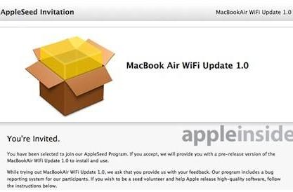802.11ac WiFi fix coming for latest MacBook Airs