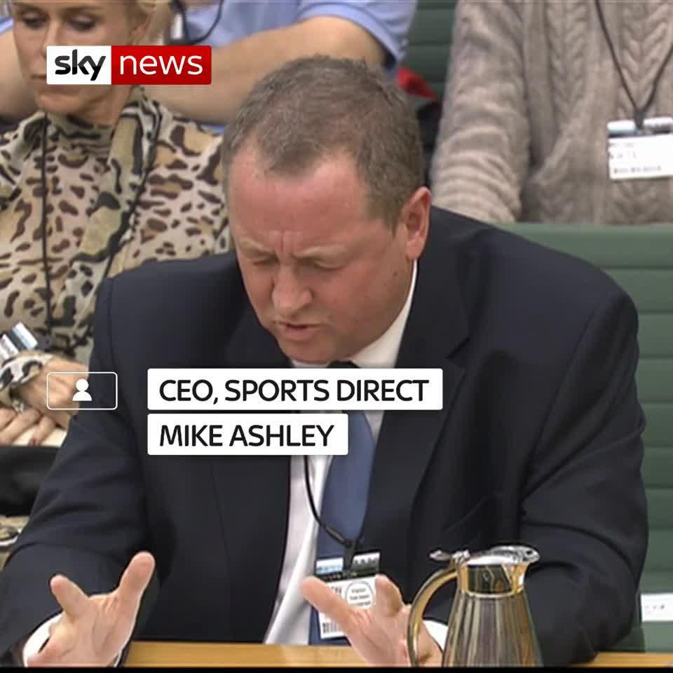 Ashley Direct: It's Not My Fault The High Street Is Dying, Sports Direct