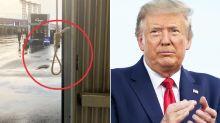 """""""Mentira rotunda"""": Donald Trump dijo que la queja por la soga era un """"engaño"""""""