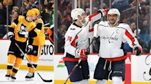 Malkin and Ovechkin hit major milestones within minutes of each other