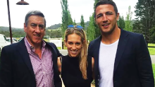 Sam Burgess charged with domestic violence-related offence