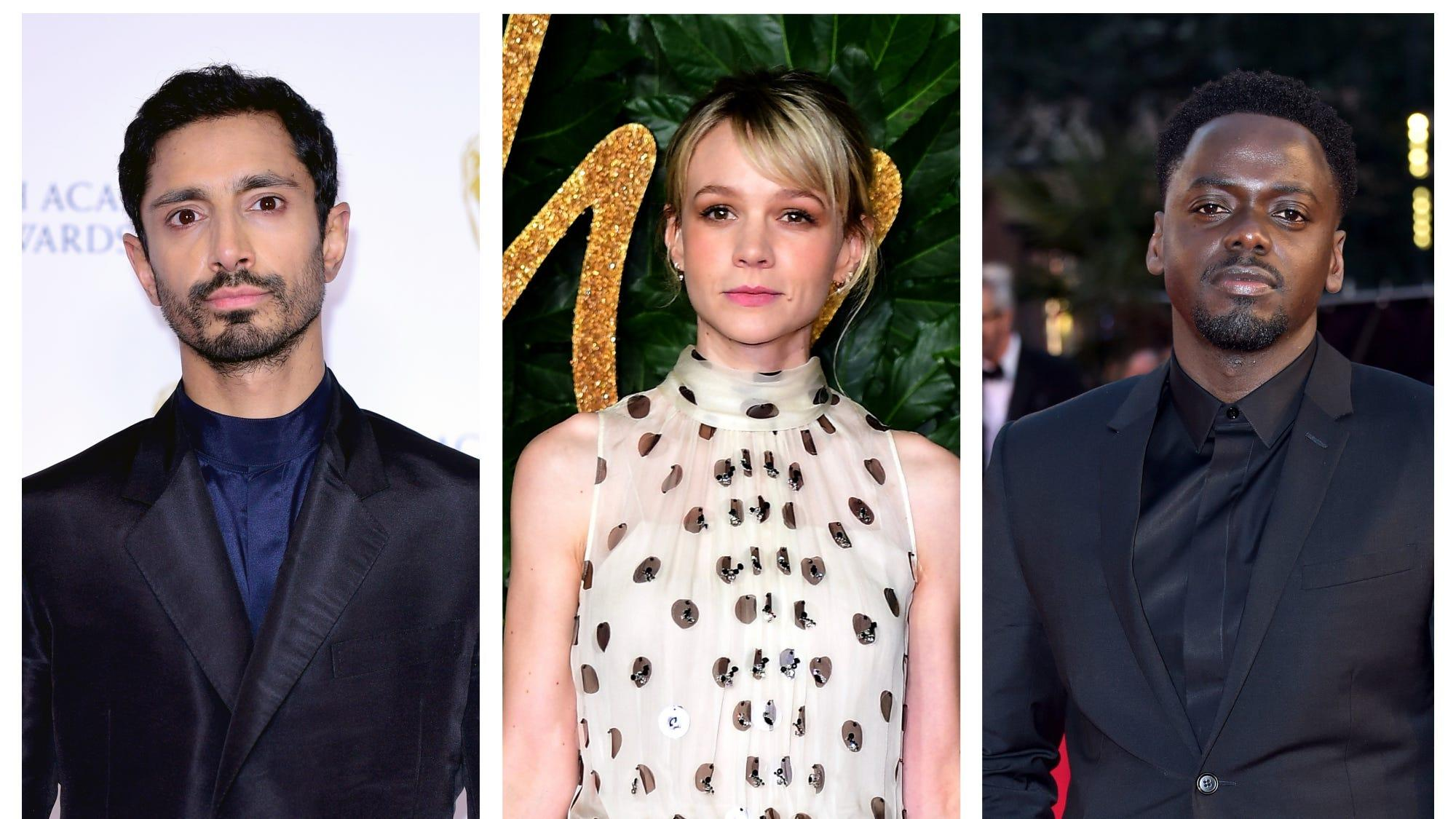 Riz Ahmed, Carey Mulligan and Daniel Kaluuya among Oscar contenders