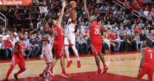 Basket - NBA - Les Rockets cueillis à froid contre Toronto