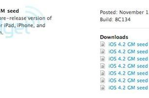 iOS 4.2 goes gold, available now to developers (updated)