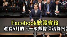 Facebook聽證會後 還看5月的《一般數據保護條例》(石先生)