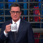 Stephen Colbert is selling mugs to help feed furloughed federal workers