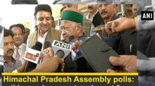 Himachal Pradesh Assembly polls:  'I have chosen a tough seat for myself', says Virbhadra Singh