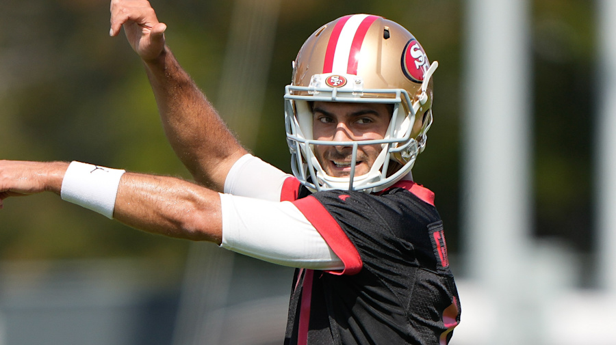 Jimmy G looks like an ace in the hole for Niners