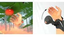 Microsoft explores realistic VR haptics with a wrist-mounted gadget