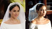 People think Meghan Markle's wedding look was inspired by J.Lo in The Wedding Planner