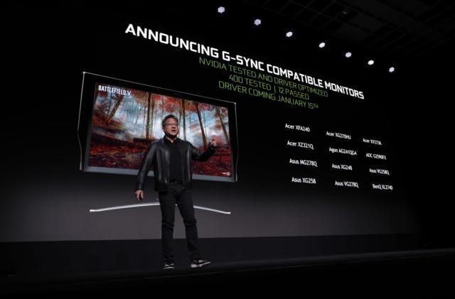 NVIDIA certifies a dozen FreeSync monitors as 'G-SYNC compatible'