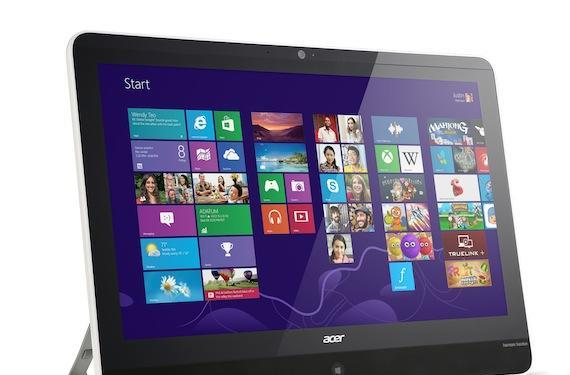 Acer's 21.5-inch Aspire Z3-600 all-in-one can move from room to room, costs $779