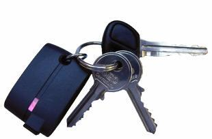 Proporta's Freedom key ring GPS receiver stays out of sight, keeps you located