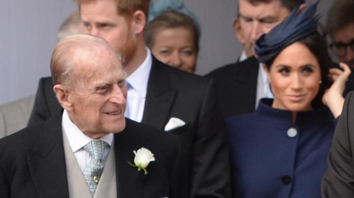 Markle sends handwritten card for Prince Philip