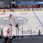a Goal from Edmonton Oilers vs. Calgary Flames