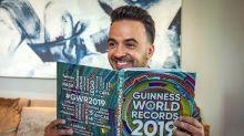 14 famosos que inscribieron su nombre en el Libro Guinness de los Récords
