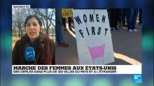 """Des milliers de femmes dans la rue pour une seconde """"Marche des femmes"""" aux États-Unis"""