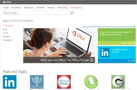 Microsoft's Office Store now open for business, productivity-boosting apps just a click away