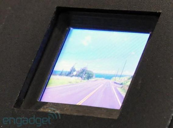 Hitachi's MEMS display: big aspirations in a little prototype