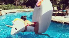 Celebrities Love Their Pool Floats: 2017 Edition