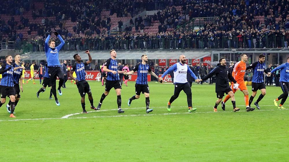 Inter spazza via Chievo e va in testa: 5-0 a San Siro