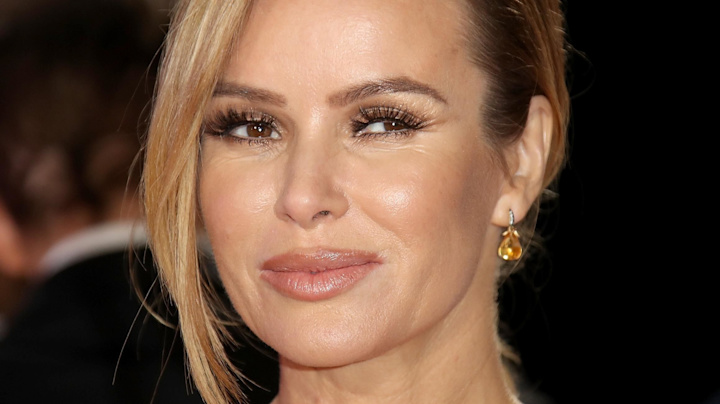 Amanda Holden reflects on 'difficult year'