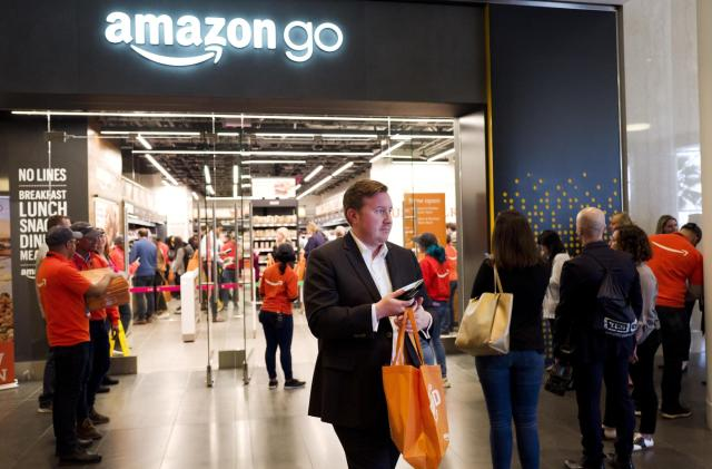Amazon may may offer cashierless Go tech to movie theaters and stadiums