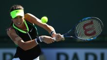 Indian Wells tennis champ Vesnina crashes out in Miami