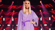 "Ivete Sangalo aparece loira no 'The Voice': ""Hebe, te dedico"""